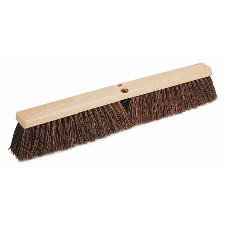 Push Broom Head, Palmyra, Wood Block, 24 in