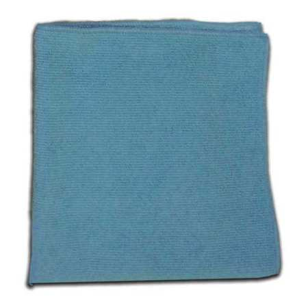 Microfiber Cloth, Blue, 16 x 16 in.