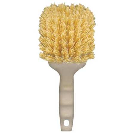 Utility Brush, Plastic, Cream, 8-1/2 in.