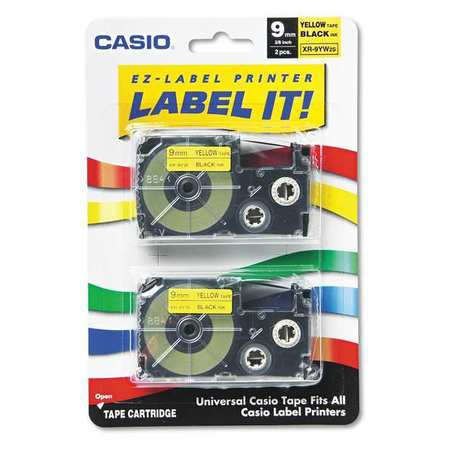 Label Printer Cassette 9mm, for KL Series, Pk2