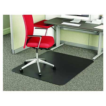 Chair Mat 36 X48 Rectangular Shape Black For Carpet