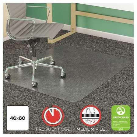 Deflecto Chair Mat 46 Quot X60 Quot Rectangular Shape Clear For
