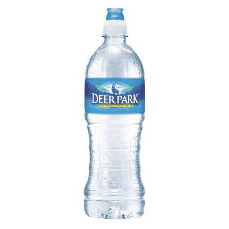 43PX34 Natural Spring Water, 23.6 oz., PK24