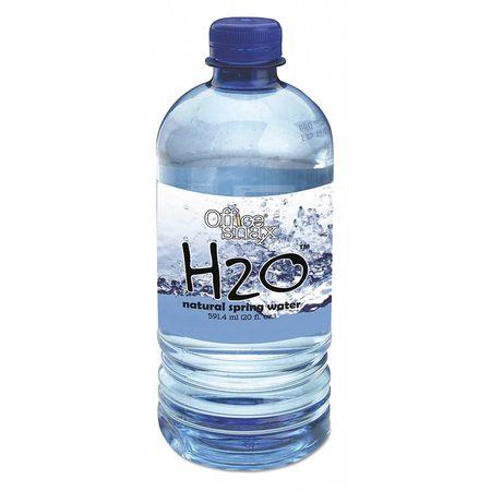 43PX42 Bottled Spring Water, 20oz., PK24