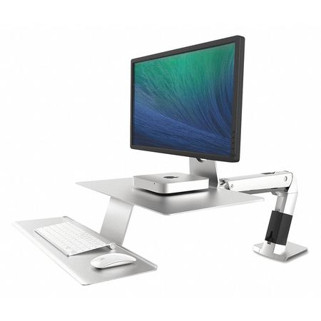 43RC47 Workstation, WorkFit-A, Apple, Silver