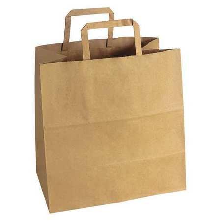 Flat Handle Ping Bag 12 X 7 Paper Handles Pk250