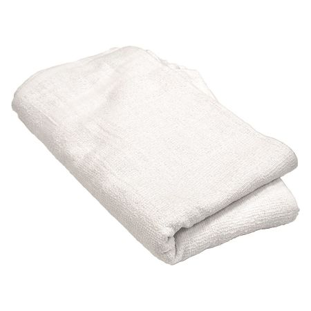 "Hand Towel, White, Cotton, 16"" x 27"", PK6"