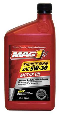 Mag 1 synthetic motor oil 1 qt 5w 30 mg53shp6 for Synthetic motor oil coupons