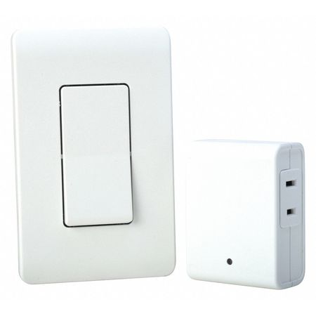 Fan Or Light Wall Remote Control : Woods Wall Switch Remote, Light Control, Wht 59773 Zoro.com