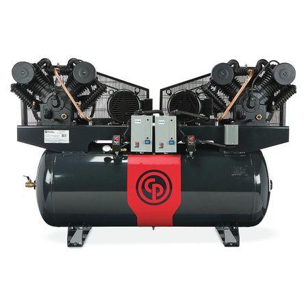 44EF64 Piston Compressor, 20 HP, 200 gal., 460V