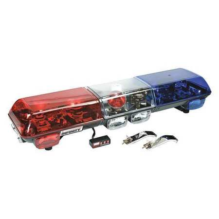 wolo lighting. Halogen Light Bar, Blue/Red Wolo Lighting