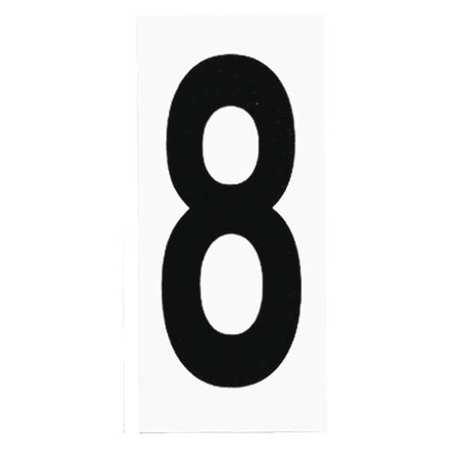 Address Lights Number 8 Pack Of 10 White