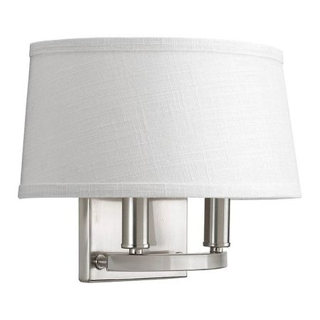 Cherish 2 Light Wall Sconce 60 W Brushed Nickel