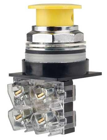 Non-Illuminated Push Button,Yellow