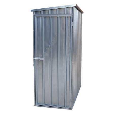 Steel Storage Shed, 60 X 33.75, Slant Roof