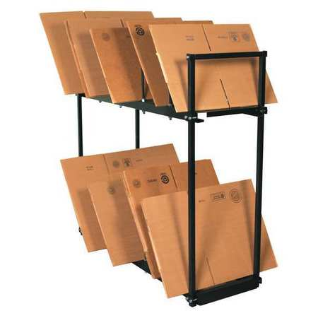 "Two Tier Carton Stand 54""x18""x50"""