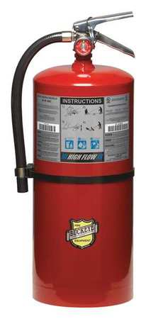 44YZ31 Fire Extinguisher, ABC, 20 lb., 21-1/4 in.H