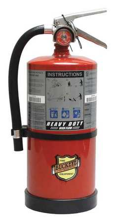 44YZ33 Fire Extinguisher, ABC, 10 lb., 16-3/4 in.H