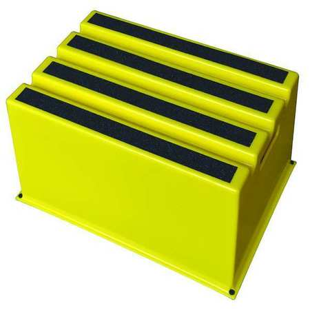Value Brand Step Stand Yellow Number Of Steps 1 44zj62