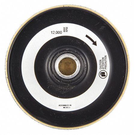 "RPM ZORO SELECT 05539599311 Disc Backup Pad,6/"" dia.,15,000 Max"