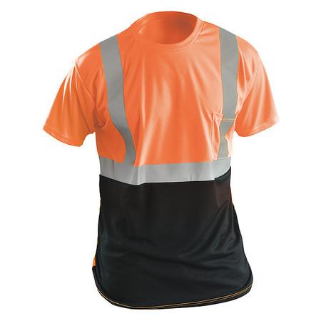 Long Sleeve T-Shirt, 2XL, ANSI Class 2