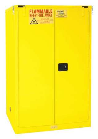 Flammable Liquid Safety Cabinet, 90 Gal.