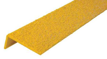 Superior Anti Slip Stair Nosing, 32in W, Fiberglass