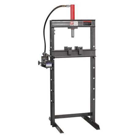 Gray Hydraulic Press, 10 t, H Frame, Manual 282 | Zoro.com