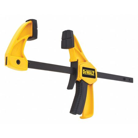 """4-1/2"""" One-Handed Trigger Clamp,  Small,  1-1/2"""" Deep"""