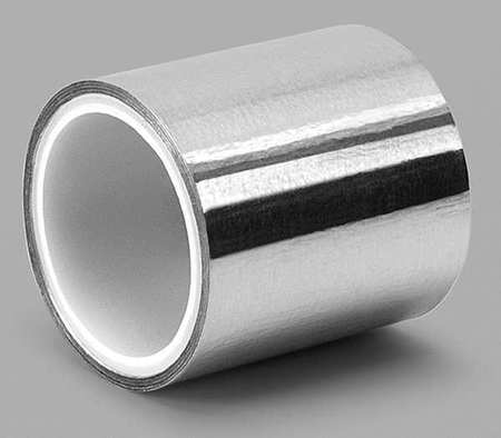 3m Foil Tape 2 In X 6 Yd Shiny Silver 1120 Zoro Com