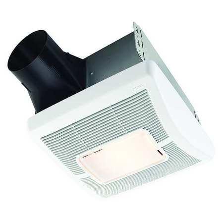 Broan Bathroom Fan, 110 cfm, 1.2A, with Light A110L | Zoro.com