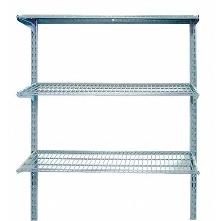 Locboard Wall Mounted Wire Shelving, 375 lb 1795 | Zoro.com