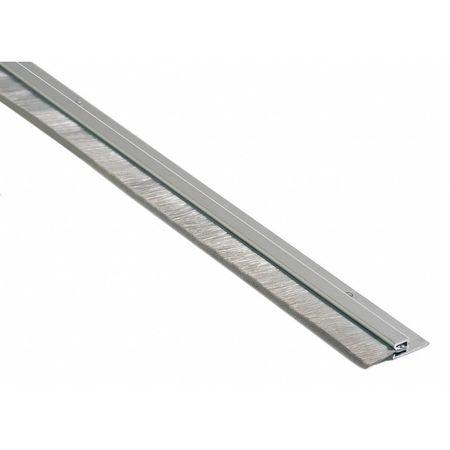 Door Sweep 8 ft. A. Aluminum Nylon Brush  sc 1 st  Zoro Tools & National Guard Door Sweep 8 ft. A. Aluminum Nylon Brush B606A-96 ...