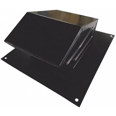 Exceptional Roof Cap, 4 In. Fits Duct Size, Aluminum