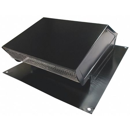 Roof Cap, 10 In. Fits Duct Size, Aluminum
