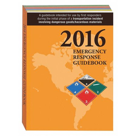 2016 Emergency Response Guide,  Std Pkt