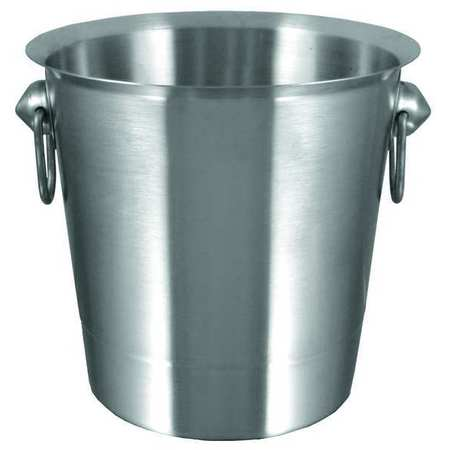 Ice Bucket,  4 qt. Stainless Steel
