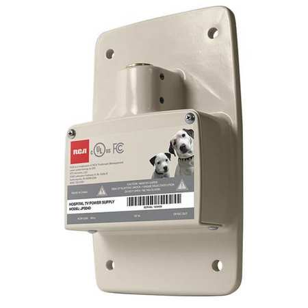45WP94 Power Supply,  Steel Wall Plate, 10 in. H