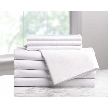 fitted sheet queen size 80 in l pk6