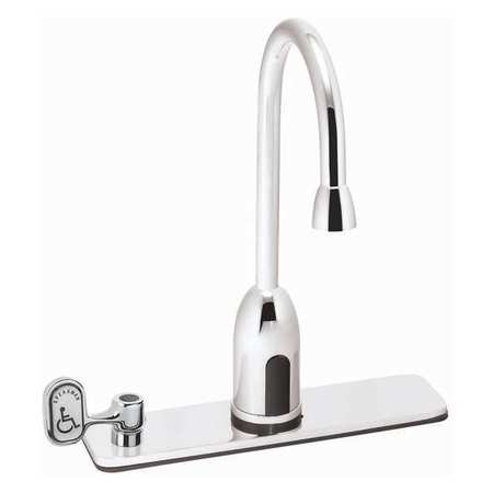 Speakman Sensor Bathroom Faucet Swivel Gooseneck Spout, Polished ...