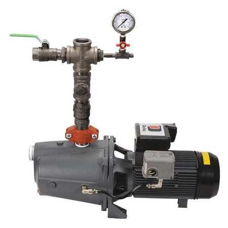Fire Sprinkler Pump System, 3 HP, 230V