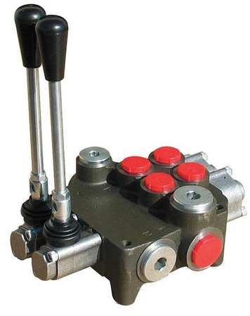 Chief hydraulic directional valve 2 spool 2p80 for Hydraulic motor spool valve