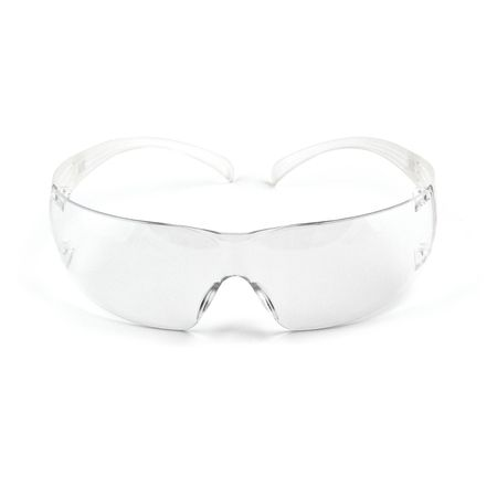 3m clear safety glasses antifog wraparound