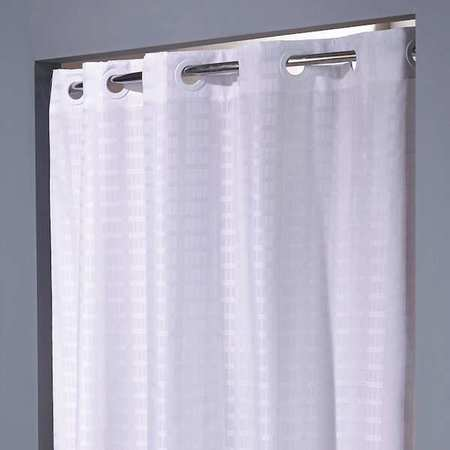 Shower Curtain White 74 In L 42 W