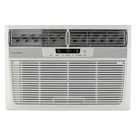 11,000 BtuH Window Air Conditioner with Heat, 115VAC