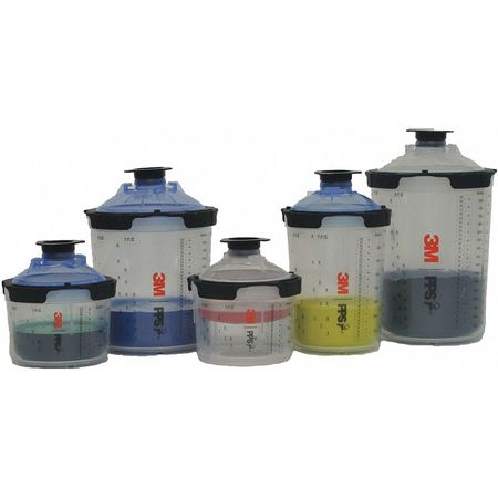 3m Spray Cup System Kit 135 Fl Oz Capacity 26112 Zorocom