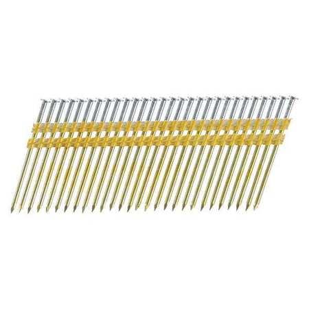 Senco Framing Nails, 10.3 ga., 3-1/4 in.L, PK2500 KD28ASBS | Zoro.com