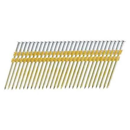 Senco Framing Nails, 10.3 ga., 3-1/4 in.L, PK4000 KD28APBSN | Zoro.com