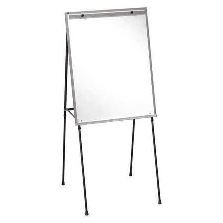 quartet 29 x40 melamine portable dry erase board easel mounted 81e