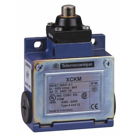 1NC/1NO Limit Switch Plunger Nema 1,  2,  4,  12,  13